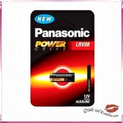Pila Alcalina LRV08 12 V Panasonic Powercells