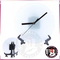 Reloj Cristal Personalizado 18 cm