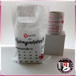 Bolsa Non Woven 21 x 27,5 cm personalizada