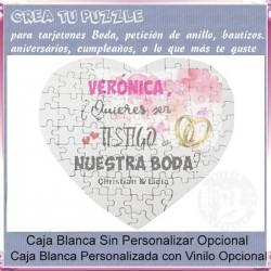 Puzzle Corazón 75 piezas