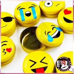 Cajas Metálicas Emoticonos