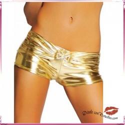 Culotte M&S LINGERIE GOLDSHORTS METALLIC