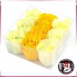 Conjunto de 9 Flores de Sabão de Primavera