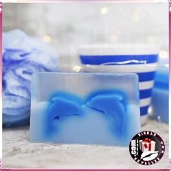 Design de Sabão Golfinhos - Gerânio