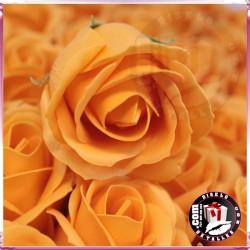 Rosas de Sabão 50 unidades Laranjas