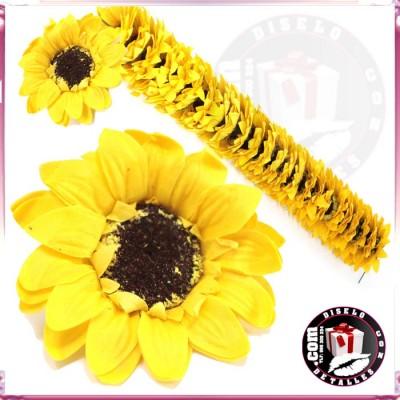 Flores de Girasol Grandes 25 uds