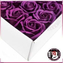 Rosas de Sabão 50 unidades Violeta