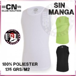 Camiseta Hombre GYM sin mangas. Poliester