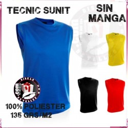 Camiseta Tecnic Sunit Hombre sin mangas