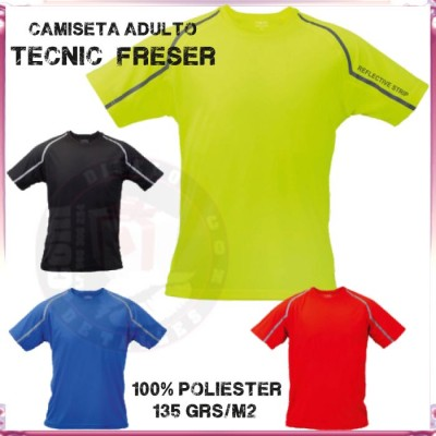 Camiseta para Adulto Tecnic Combi 135 grs