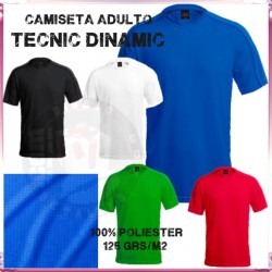 Camiseta Adulto Tecnic Dinamic 125 grs