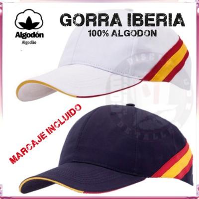 Gorra de Algodón Iberia Algodón Personalizada