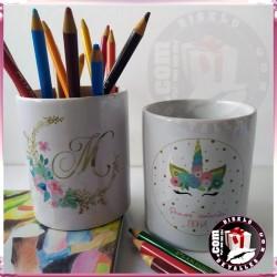 Porta-lápis de Cerâmica Personalizados