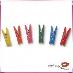 Pinzas Pequeñas de Colores Surtidos